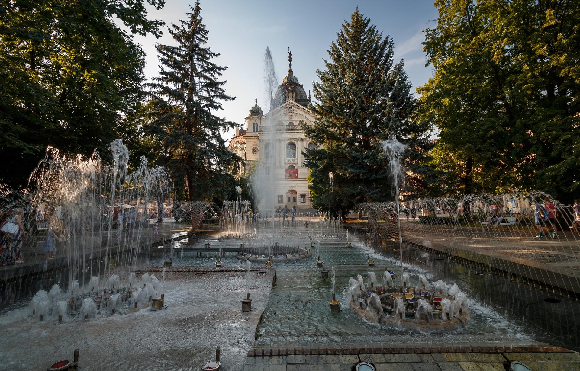 Ville de Kosicé en Slovaquie