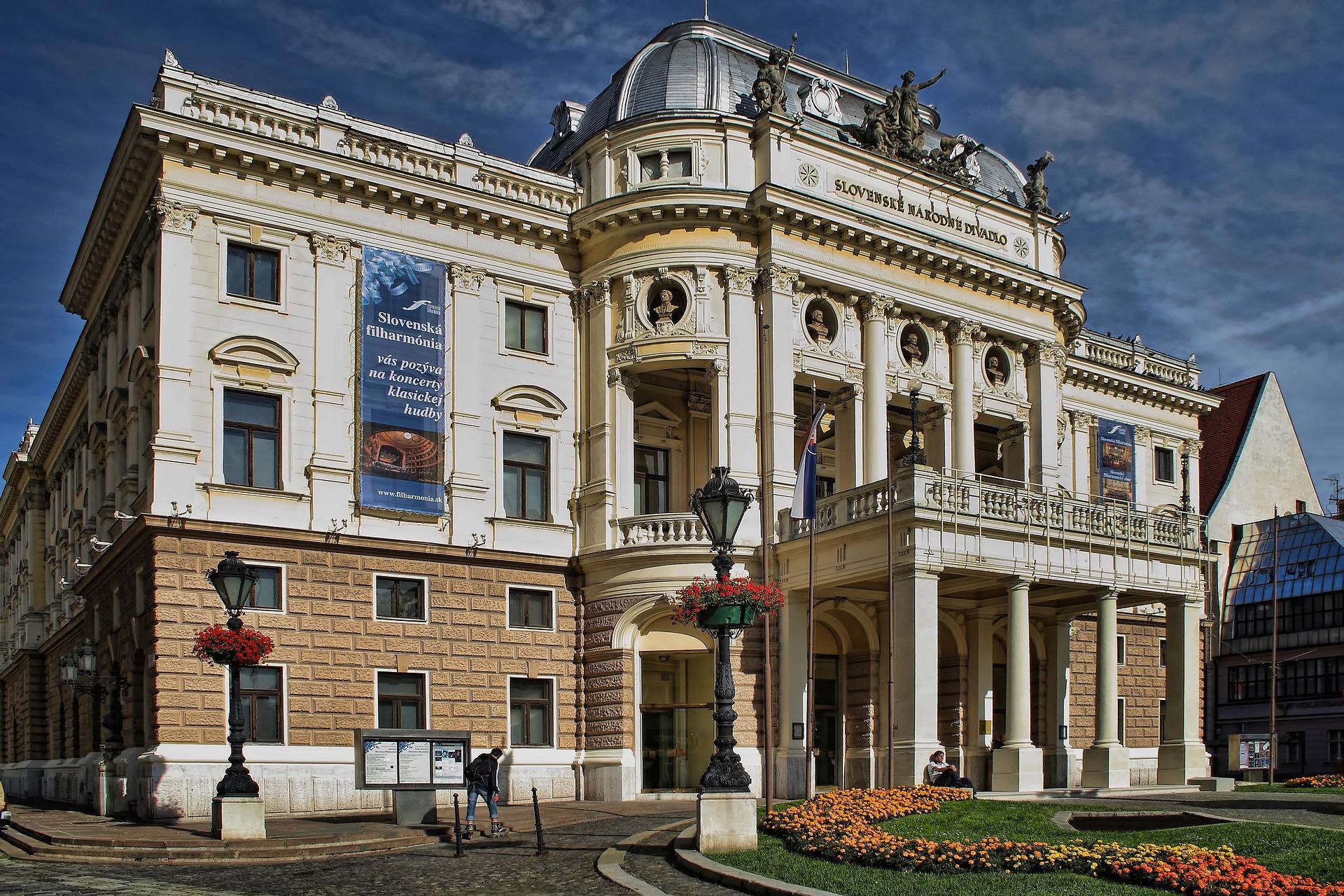 La ville de Bratislava en Slovaquie