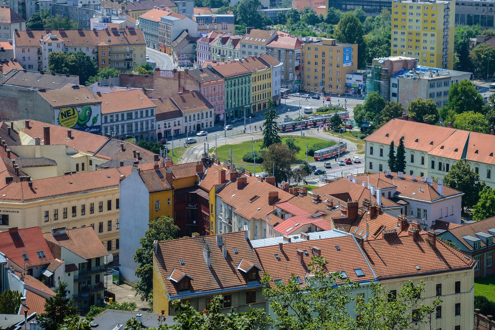 Vue de la ville Brno - République Tchèque